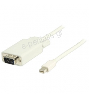 Καλώδιο mini DisplayPort - VGA 2.0m.  VLMP37800W 2.00